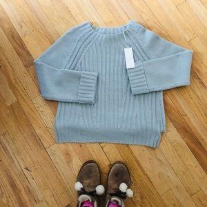 NWT Vince Super Cozy Mist Sweater Size S